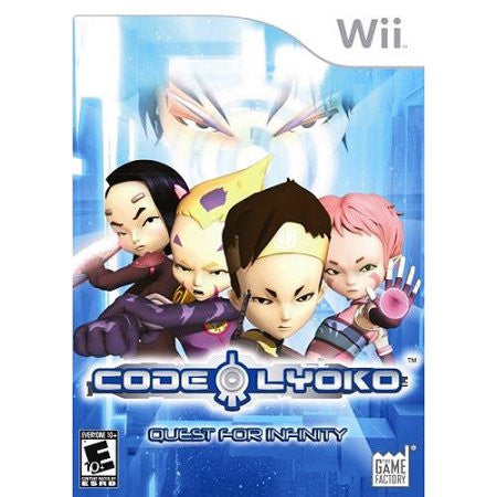 Code Lyoko: Quest for Infinity (Nintendo Wii) Pre-Owned: Game, Manual, and Case
