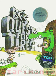 BC's Quest for Tires (Atari 400/800) Pre-Owned: Cartridge Only