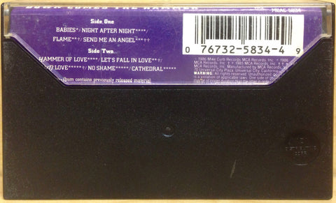 Real Life - Down Comes the Hammer (Cassette Tape) 2