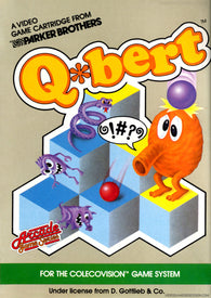 Q*bert (ColecoVision / Coleco) Pre-Owned: Cartridge Only