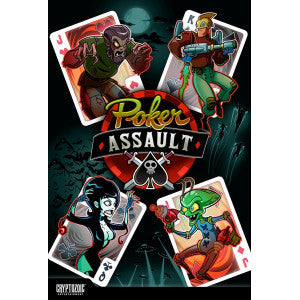 Poker Assault (Board and Card Games) NEW