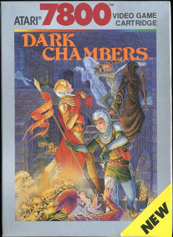Dark Chambers (Atari 7800) Pre-Owned: Cartridge and Reproduction Case