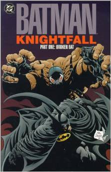 Batman: Knightfall Part One: Broken Bat (DC Comics Paperback) (Pre-Owned Book / Graphic Novel)