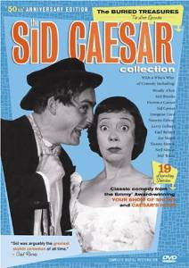 The Sid Caesar Collection - The Buried Treasures - The Lost Episodes - 50th Anniversary Edition (DVD / Box Set Pre-Owned: Discs, Cases w/ Case Art, and Box
