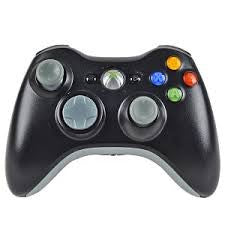 Official Microsoft Wireless Controller - Original Black (Xbox 360) Pre-Owned