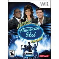 Karaoke Revolution American Idol Encore (Game Only) (Nintendo Wii) Pre-Owned