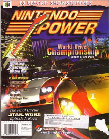 Issue: July 1999 / Vol 122 (Nintendo Power Magazine) Pre-Owned: Complete - Bagged & Boarded