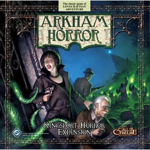 Arkham Horror: Kingsport Horror Expansion (Card and Board Games) NEW