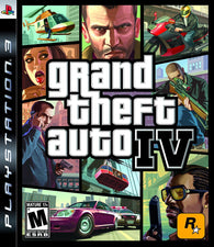 Grand Theft Auto IV 4 (Playstation 3 / PS3)