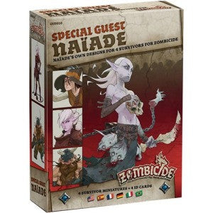 Zombicide: Black Plague Expansion - Special Guest Artist Box - Naiade (Card and Board Games) NEW