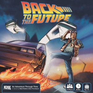 Back to the Future: An Adventure Through Time (Board and Card Games) NEW