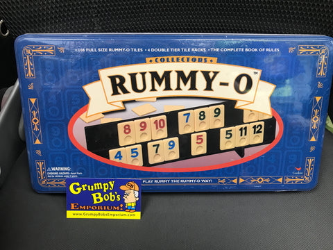 RUMMY-O Tile Game - Complete / Pre-owned