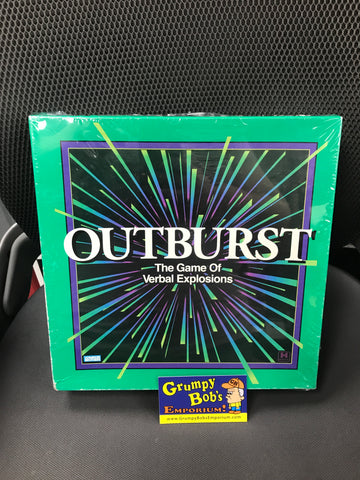 Outburst - 1988 Edition (Board and Card Games) - Pre-owned / COMPLETE