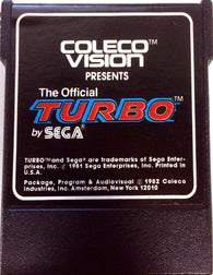 Turbo (ColecoVision / Coleco) Pre-Owned: Cartridge Only
