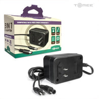 3-in-1 Universal AC Adapter for Genesis Model 1/ SNES/ NES (Tomee) NEW