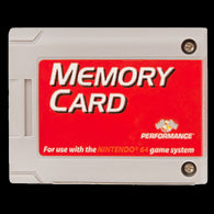 Performance Memory Card - Grey (Nintendo 64) Pre-Owned