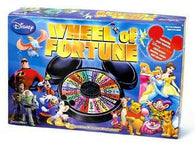 Disney Wheel of Fortune (Board Game) Pre-owned