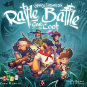 Rattle, Battle, Grab the Loot (Board Games) NEW