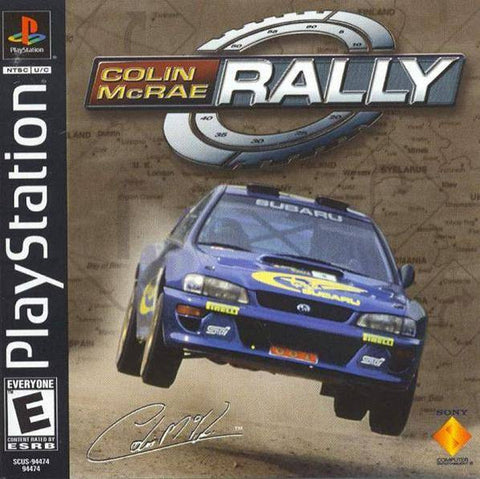 Colin McRae Rally (Playstation 1 / PS1) Pre-Owned: Game, Manual, and Case