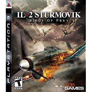 IL-2 Sturmovik: Birds of Prey (Playstation 3) Pre-Owned: Game, Manual, and Case