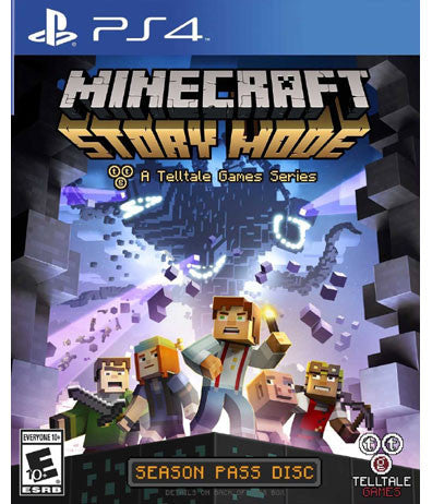 Minecraft: Story Mode (Playstation 4 / PS4) NEW