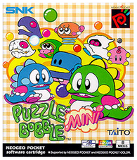 Puzzle Bobble Mini (Neo Geo Pocket Color) Pre-Owned: Cartridge Only