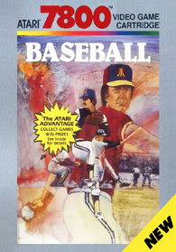 RealSports Baseball  (Atari 7800) Pre-Owned: Cartridge Only