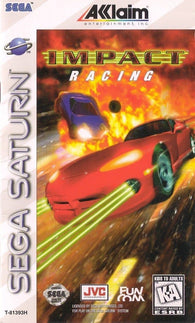 Impact Racing (Sega Saturn) Pre-Owned: Game, Manual, and Case