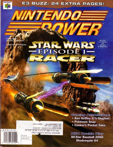 Issue: May 1999 / Vol 120 (Nintendo Power Magazine) Pre-Owned: Complete - Bagged & Boarded