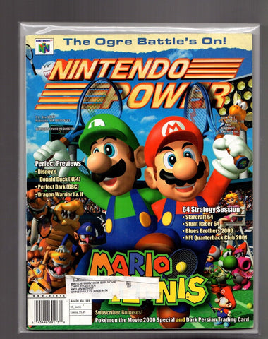 Issue: Aug 2000 / Vol 135 (Nintendo Power Magazine) Pre-Owned: Complete - Bagged & Boarded