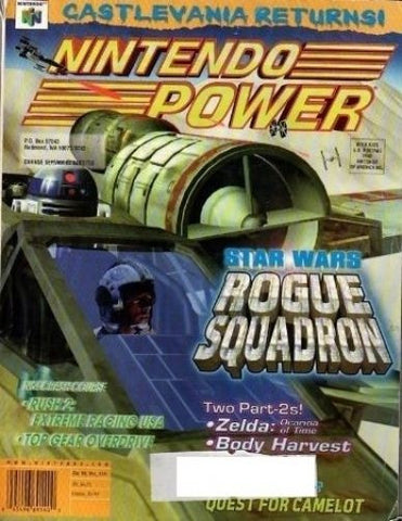 Issue: Dec 1998 / Vol 115 (Nintendo Power Magazine) Pre-Owned: Complete - Bagged & Boarded