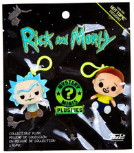 Rick and Morty - Mystery Minis Plushies - NEW