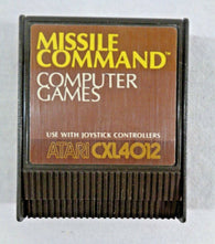 Missile Command - CXL4012 (Atari 400/800/XL/XE) Pre-Owned: Cartridge Only