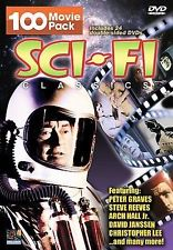 Sci-Fi Classics 100 Movie Pack (DVD) Pre-Owned (No Buffing/As Is)