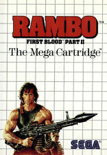 Rambo First Blood Part II (Sega Master System) Pre-Owned: Game and Case