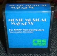 Movie Musical Madness (Atari 400/800) Pre-Owned: Cartridge Only