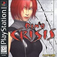 Dino Crisis (Playstation) Pre-Owned: Game, Manual, and Case