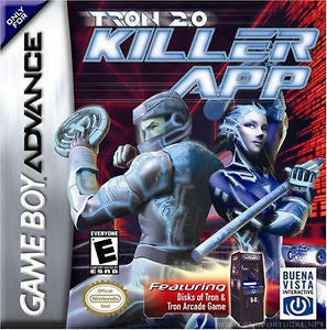 Tron 2.0: Killer App (Nintendo Game Boy Advance) Pre-Owned: Game, Manual, Poster, and Box