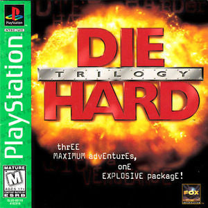 Die Hard Trilogy (Playstation 1) Pre-Owned: Game, Manual, and Case