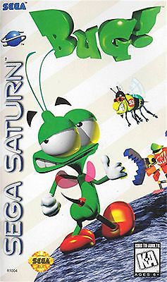 BUG (Sega Saturn) Pre-Owned: Game, Manual, and Case