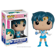 Sailor Moon: #91 Sailor Mercury (Funko POP!) Figure and Original Box