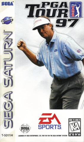PGA Tour 97 (Sega Saturn) Pre-Owned: Game, Manual, and Case