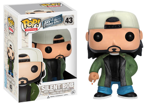 Funko POP! Figure - Movies #43: Jay and Silent Bob Strike Back - Silent Bob - NEW 1