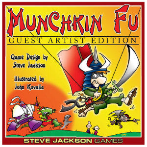 Munchkin Fu Deluxe - Guest Artist Edition (Card and Board Games) NEW