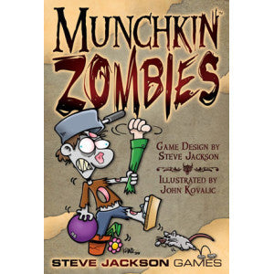 Munchkin Zombies (Card and Board Games) NEW
