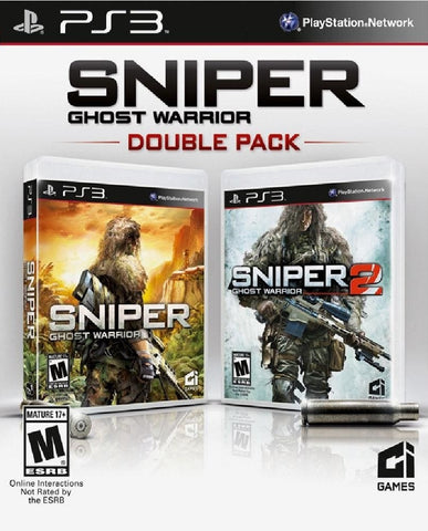 Sniper Ghost Warrior Double Pack (Playstation 3) Pre-Owned: Game, Manual, and Case