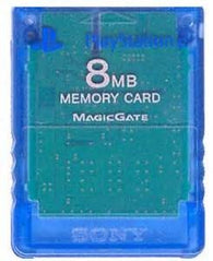 Official Sony 8MB Memory Card - Blue (Sony Playstation 2) Pre-Owned