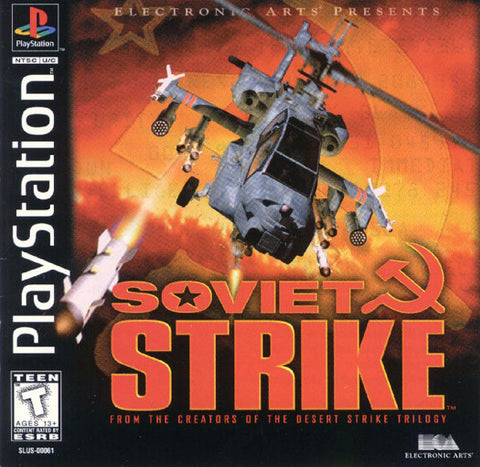 Soviet Strike (Playstation 1) Pre-Owned: Game, Manual, and Case