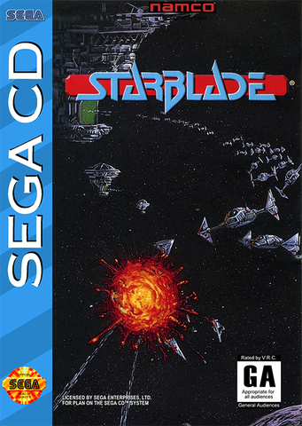 Starblade (Sega CD) Pre-Owned: Game, Manual, and Case