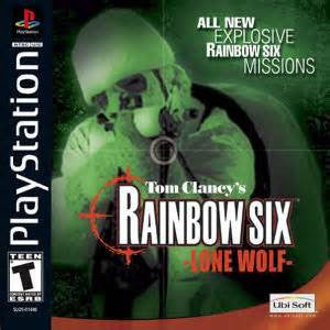 Rainbow Six Lone Wolf (Playstation 1) Pre-Owned: Game, Manual, and Case